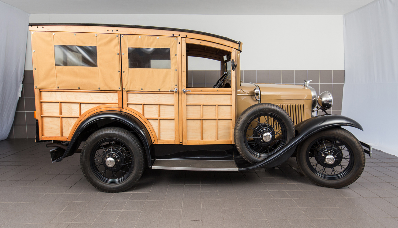1930 Model A Ford Woodie