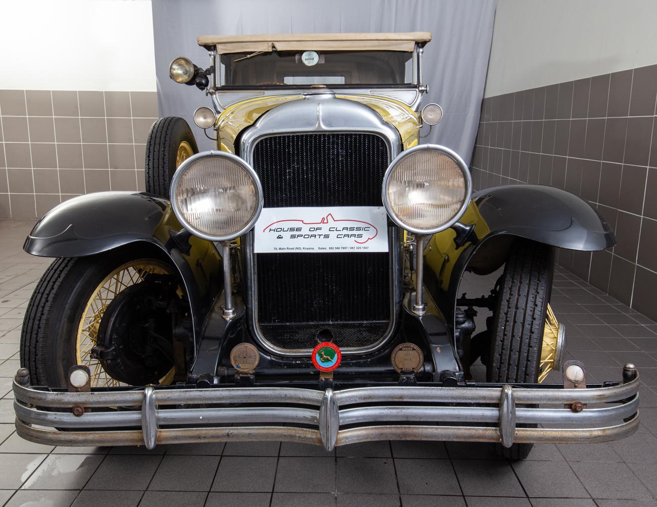 1929 BUICK 2 DOOR ROADSTER