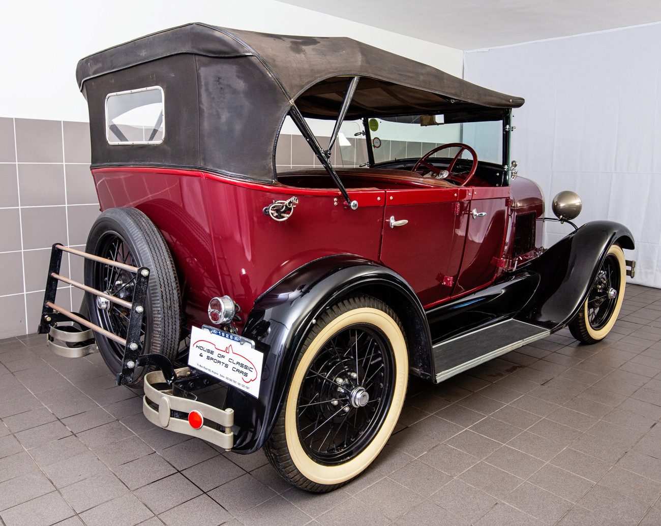 1928 MODEL A FORD PHAETON