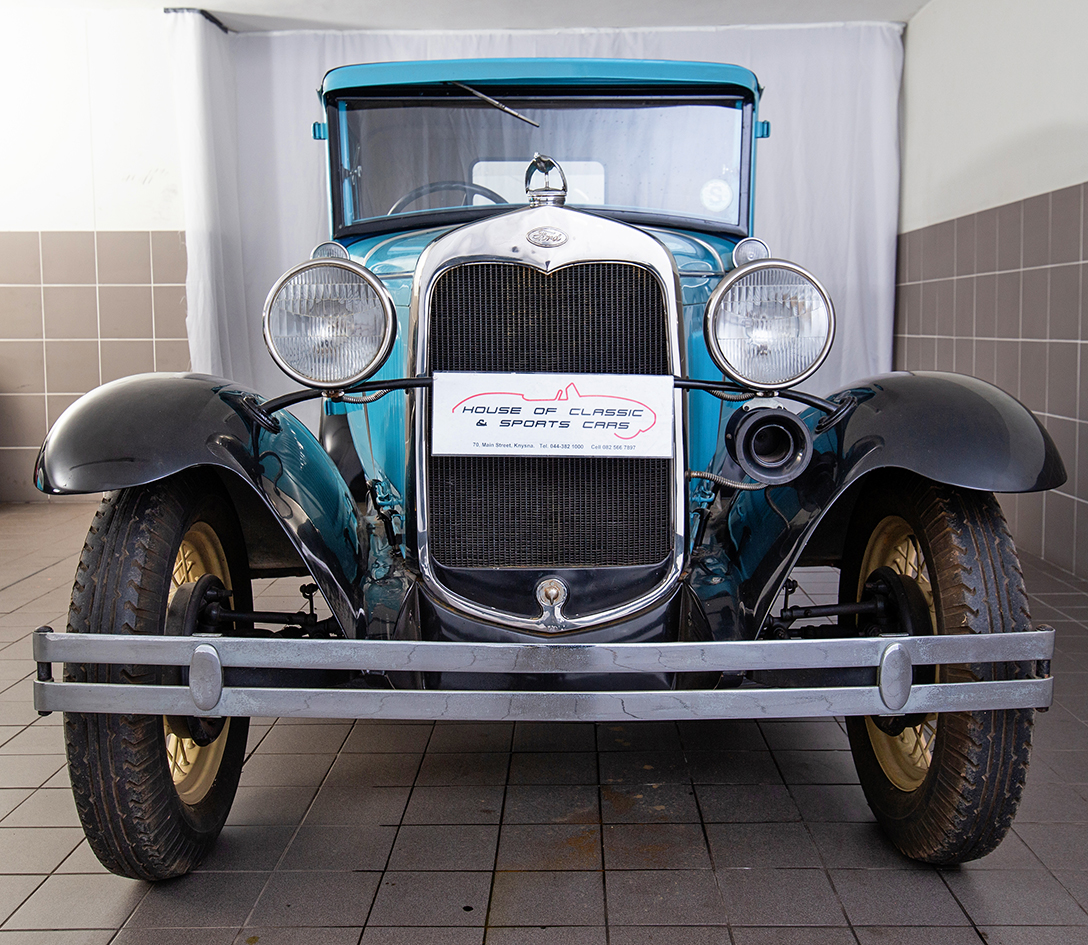 1930 Model A Ford Victoria Coupe
